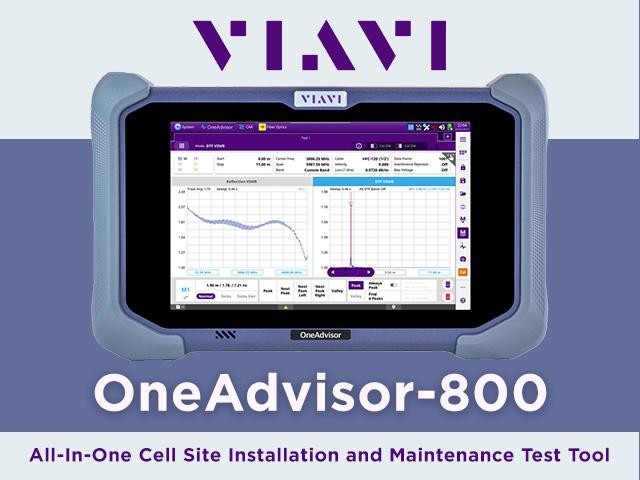 VIAVI OneAdvisor-800 image