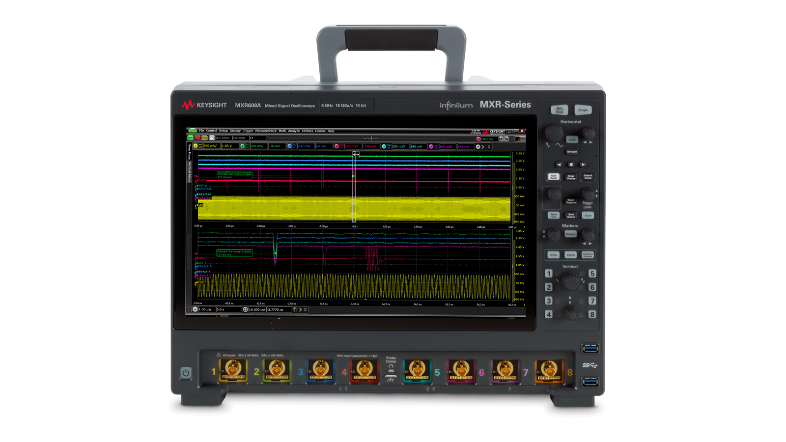 Keysight Infiniium MXR-Series Oscilloscopes