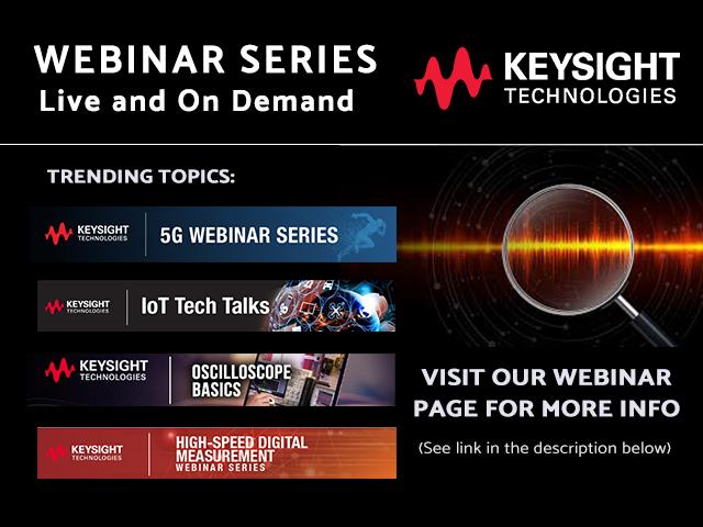 Keysight Webinars