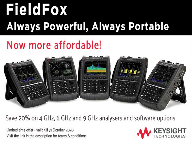 FieldFox always powerful always portable