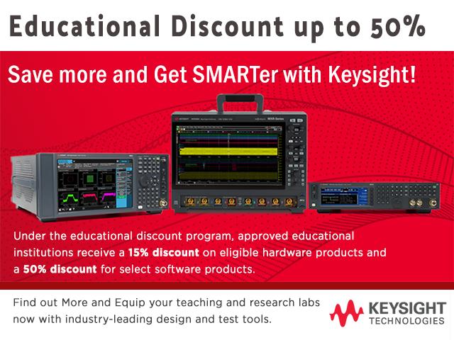 Educational Discount Keysight