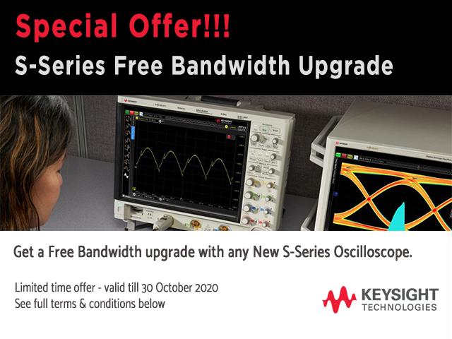 S-Series free bandwidth