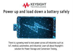Keysight Power up and load down