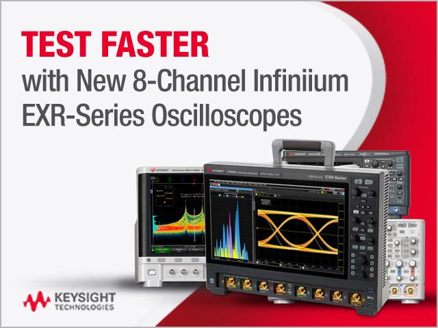 Keysight Infiniium EXR- Series Oscilloscopes
