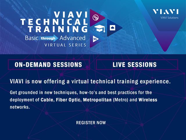 Viavi Technical Webinars