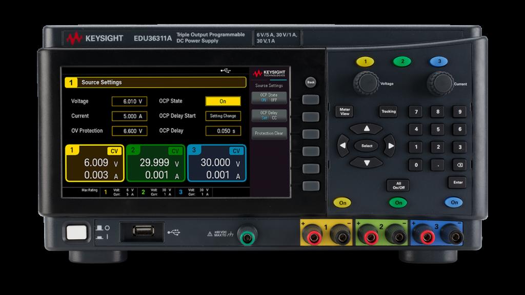EDU36311A Triple output power supply