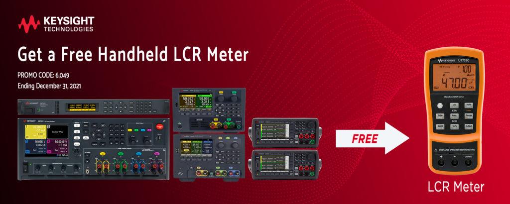keysight free lcr promo